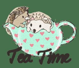 Hedgehogs in Love sticker #1370195