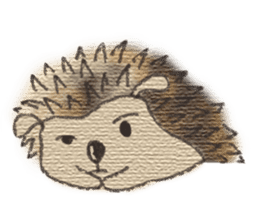 Hedgehogs in Love sticker #1370199