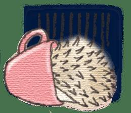 Hedgehogs in Love sticker #1370200
