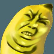 สติ๊กเกอร์ไลน์ แองกรี้ บานาน่าส์ : กล้วยหอมจอมโกรธ