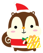 Squly & Friends: Merry Xmas sticker #1373898