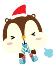 Squly & Friends: Merry Xmas sticker #1373899