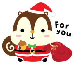 Squly & Friends: Merry Xmas sticker #1373902