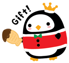 Squly & Friends: Merry Xmas sticker #1373907