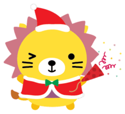 Squly & Friends: Merry Xmas sticker #1373909