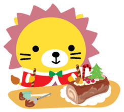 Squly & Friends: Merry Xmas sticker #1373910