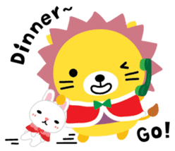 Squly & Friends: Merry Xmas sticker #1373912