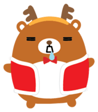 Squly & Friends: Merry Xmas sticker #1373913