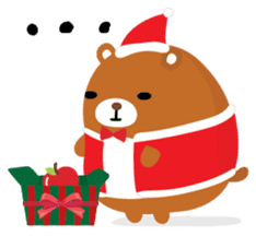 Squly & Friends: Merry Xmas sticker #1373915