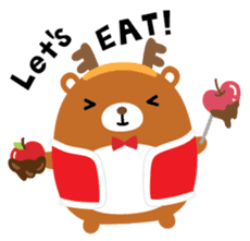 Squly & Friends: Merry Xmas sticker #1373917