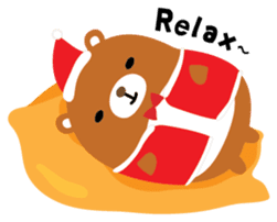 Squly & Friends: Merry Xmas sticker #1373918