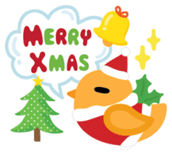 Squly & Friends: Merry Xmas sticker #1373925