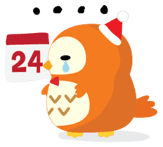 Squly & Friends: Merry Xmas sticker #1373929