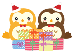 Squly & Friends: Merry Xmas sticker #1373930