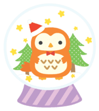 Squly & Friends: Merry Xmas sticker #1373931
