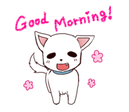 It is loved Dog!daily life of the Pit sticker #1377386