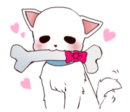 It is loved Dog!daily life of the Pit sticker #1377410