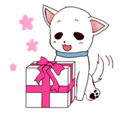 It is loved Dog!daily life of the Pit sticker #1377411
