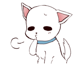It is loved Dog!daily life of the Pit sticker #1377420