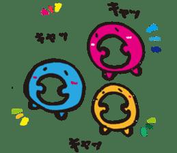 The daily life of 'Omono-kun' sticker #1378228