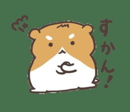hakata ben hamster sticker #1378792