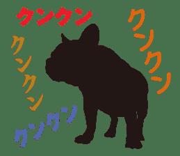 Life of French Bulldog Amelie sticker #1379269