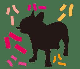 Life of French Bulldog Amelie sticker #1379294