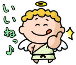 angel&devil sticker #1379578