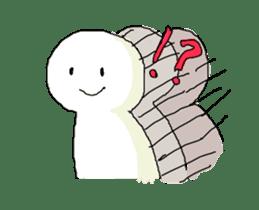 Explosion Man sticker #1380839