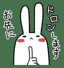 Party Rabbit Utan sticker #1382431