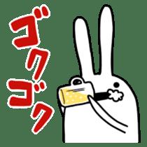 Party Rabbit Utan sticker #1382433