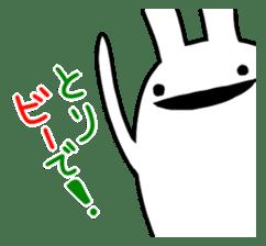 Party Rabbit Utan sticker #1382435