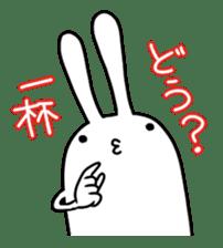 Party Rabbit Utan sticker #1382442