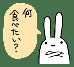 Party Rabbit Utan sticker #1382446