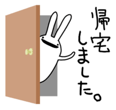 Party Rabbit Utan sticker #1382449