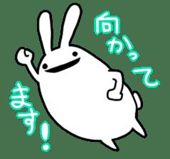 Party Rabbit Utan sticker #1382452