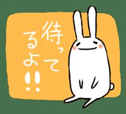 Party Rabbit Utan sticker #1382458
