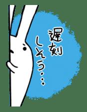 Party Rabbit Utan sticker #1382459