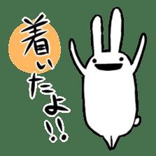 Party Rabbit Utan sticker #1382460