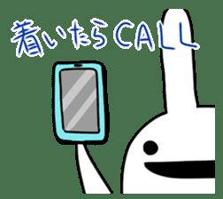 Party Rabbit Utan sticker #1382461
