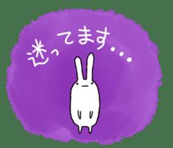 Party Rabbit Utan sticker #1382464