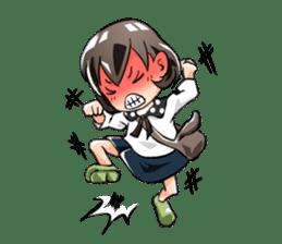 Pandemic! Sunao-chan sticker #1382629