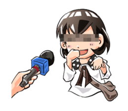 Pandemic! Sunao-chan sticker #1382641