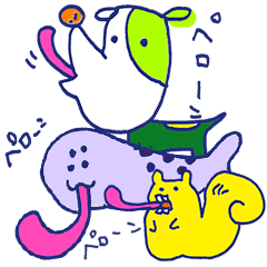 Animal Perowne Stickers