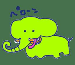 Animal Perowne Stickers sticker #1382687