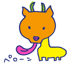 Animal Perowne Stickers sticker #1382703