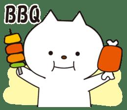 Friends beckoning cat sticker #1383415