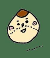 chestnut&simeji mushroom sticker #1383656