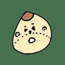 chestnut&simeji mushroom sticker #1383658