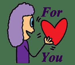Purple People 2 sticker #1383868
